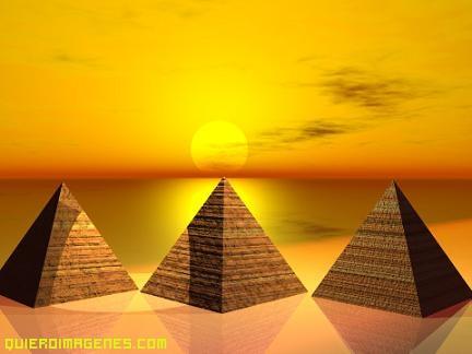 Imagenes de las Piramides en 3D