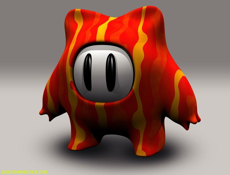 Imagen de Monstruo en 3D