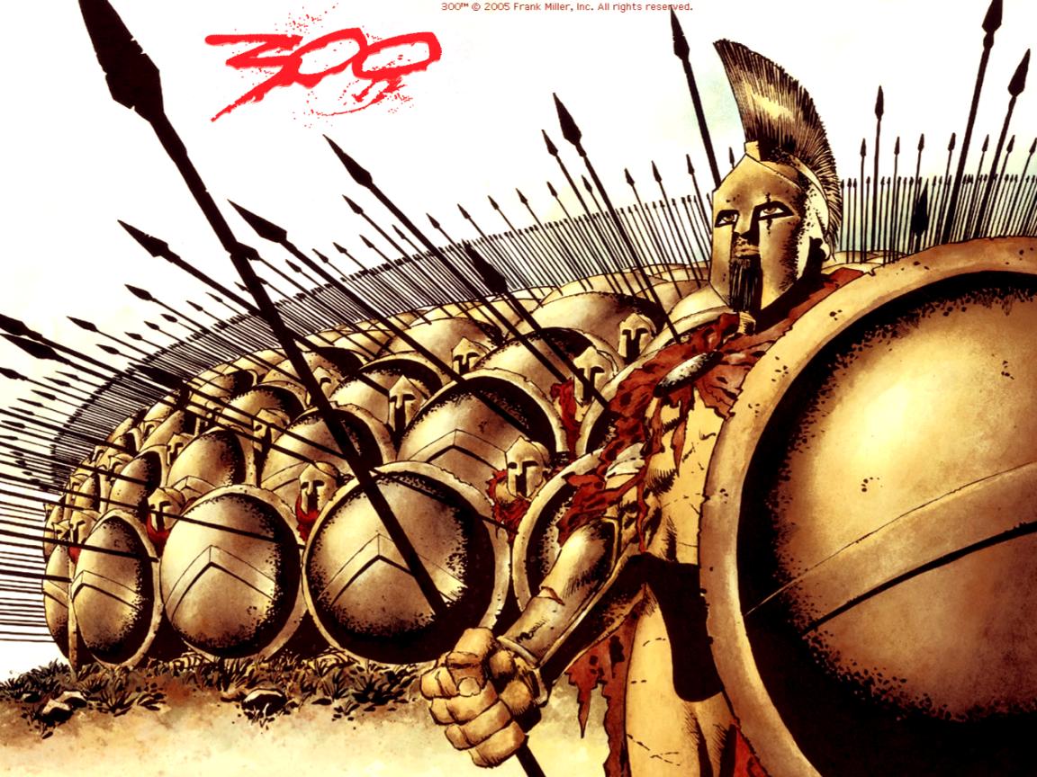 Los 300 valientes