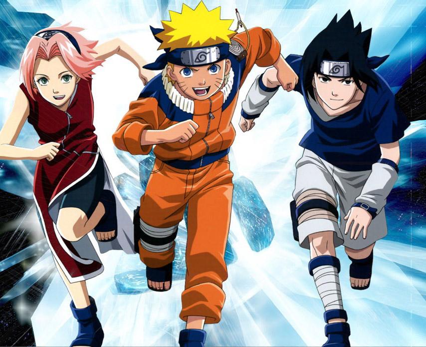 Imagenes Naruto Sasuke y Sakura