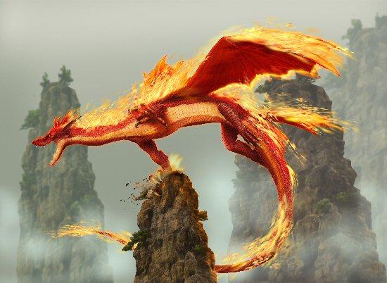 Imagen de Dragon de Fuego