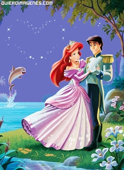 Ariel y Eric bailando