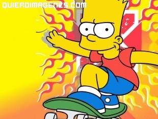 Bart a toda velocidad