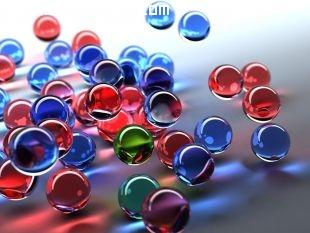 Imagen de canicas de colores