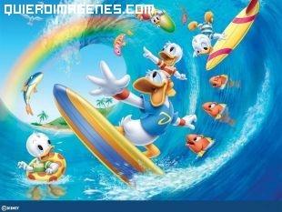 Donald y sus sobrinos