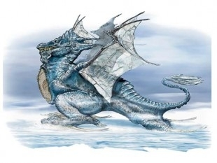 Dragón enfadado