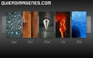 Imagen de los cinco elementos