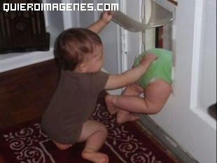 Imagen de fuga de bebés