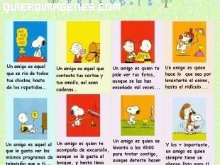 Frases de amistad de Snoopy