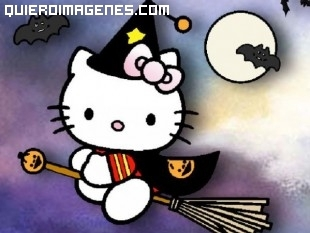 Hello Kitty y Halloween