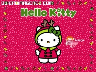 Hello Kity recibe el invierno