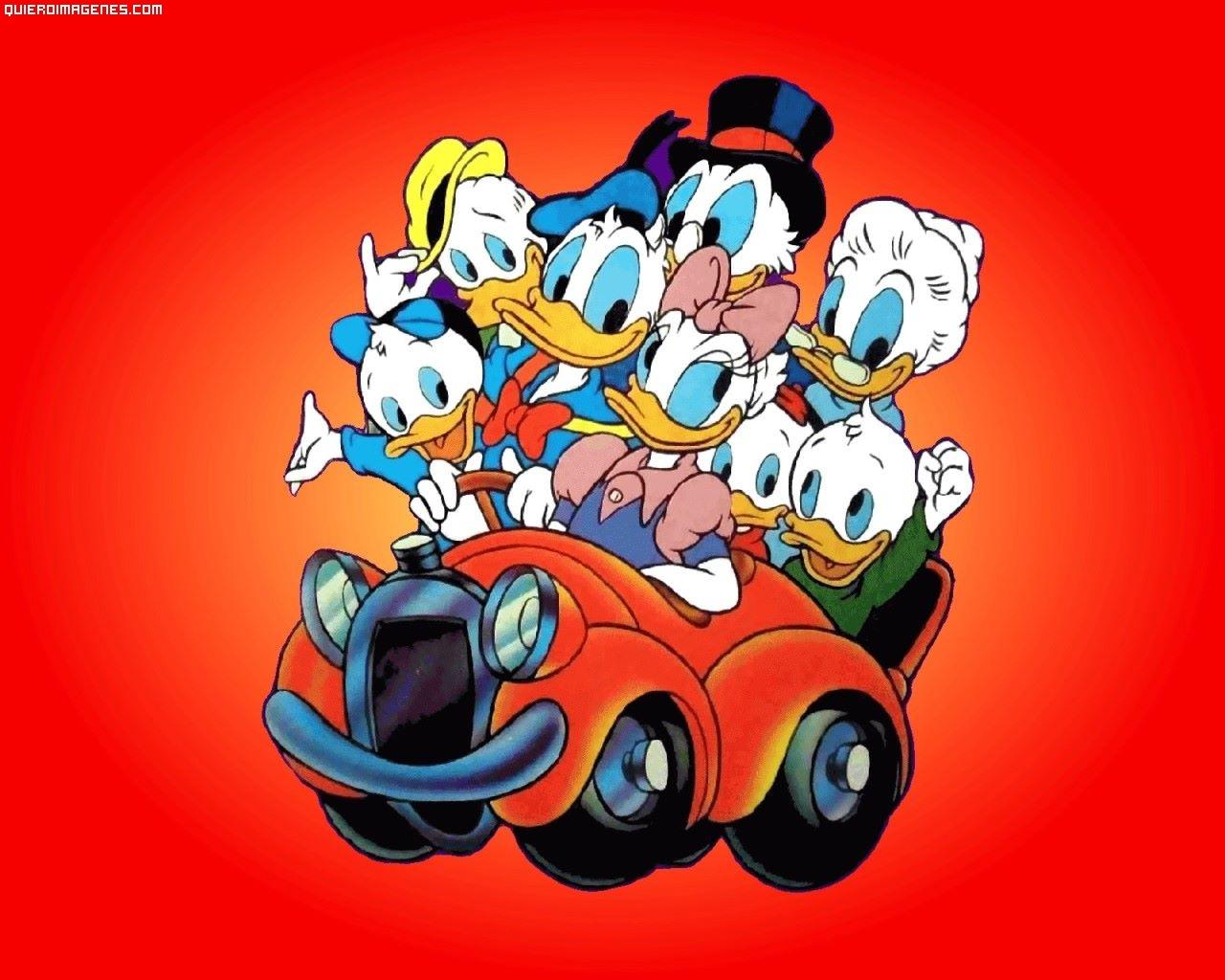 Donald y toda la familia
