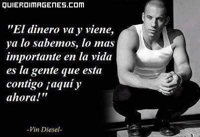 Frase de Vin Diesel