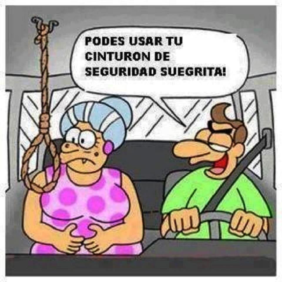 Cinturón para la suegra