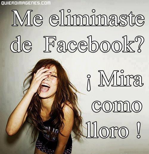 Eliminar del Facebook