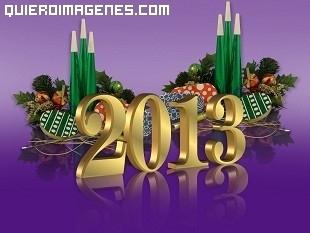 Felicitar el 2013 en Facebook
