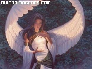 Impresionante ángel celestial