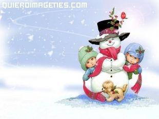 Imagen de muñeco de nieve
