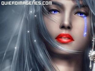 Princesa de los ojos tristes