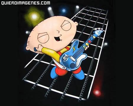 Stewie rockero
