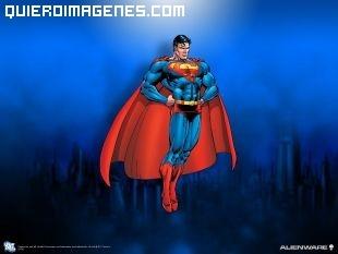 Superman sube impulsado por los aires