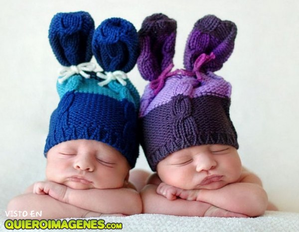 Adorables gemelos