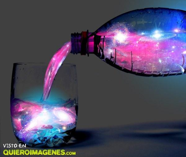 Agua de colores