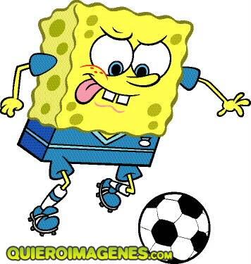 Bob Esponja futbolista