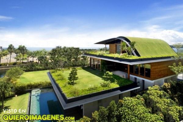 Bonita casa con jard n for Casas bonitas con alberca y jardin