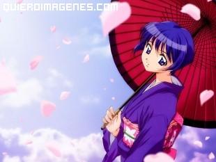 Chica japonesa manga