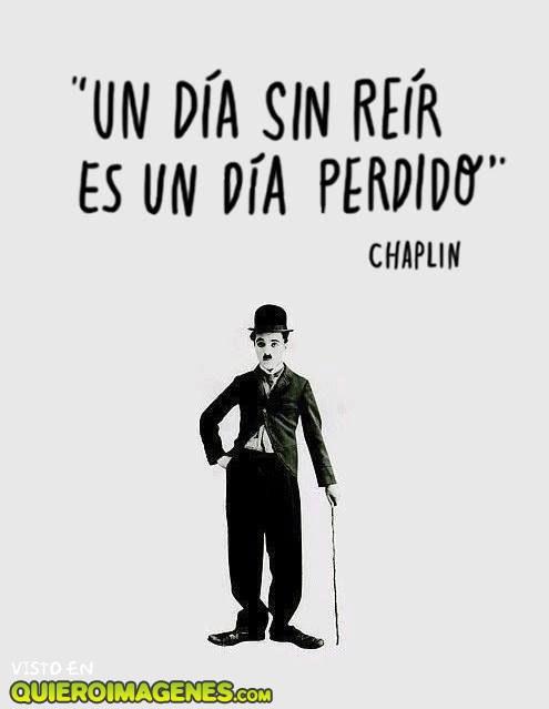 Cita de Charles Chaplin