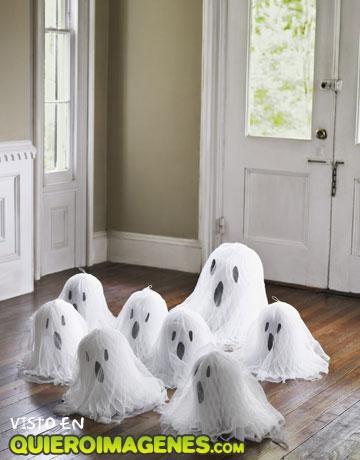 Familia de fantasmas