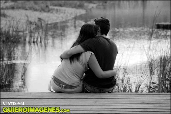 Demostrar el amor a través de un abrazo