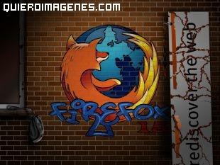 Imagen Firefox en Graffiti