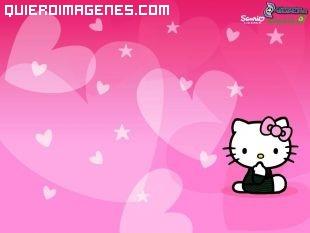 Kitty y los corazones