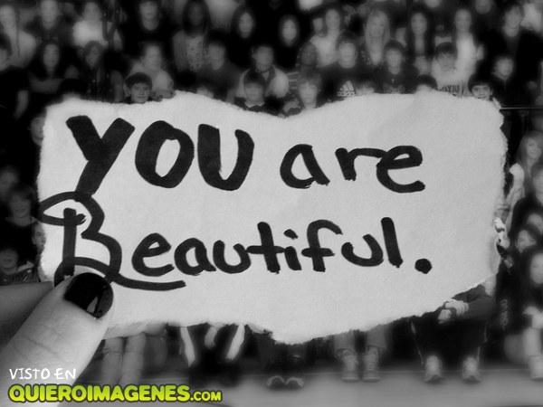 Eres bonita