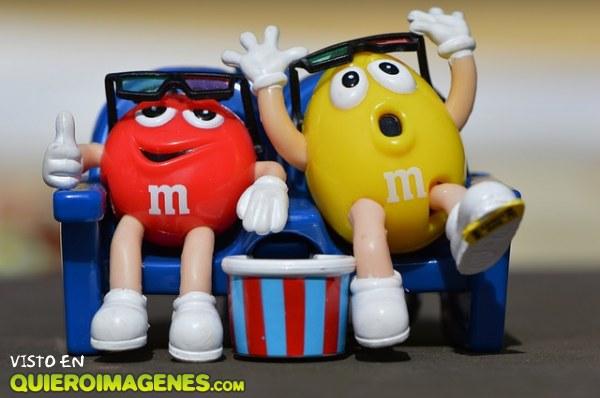 M&M´s en el cine