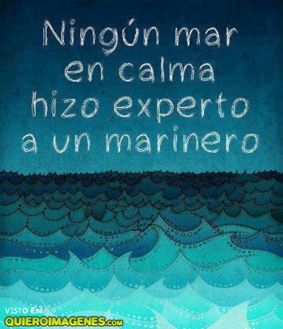 Ningún mar en calma