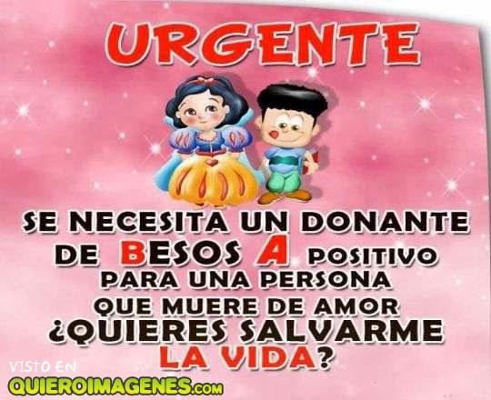 Mensaje urgente