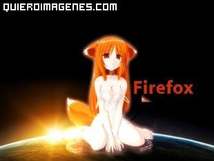 Chica Manga FireFox