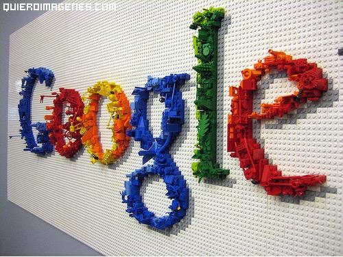 Google en piezas de Lego