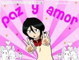 Paz y amor al estilo manga
