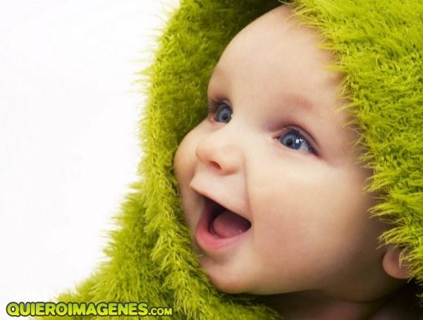 La sonrisa de un bebé