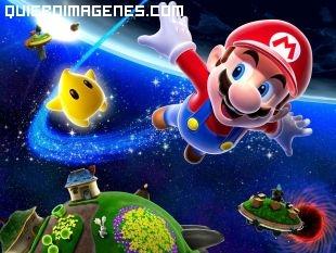 Super Mario en el Espacio
