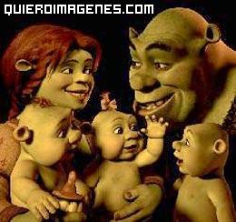 Shrek y su familia de Ogros