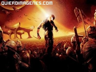 Dibujo de Riddick, la venganza