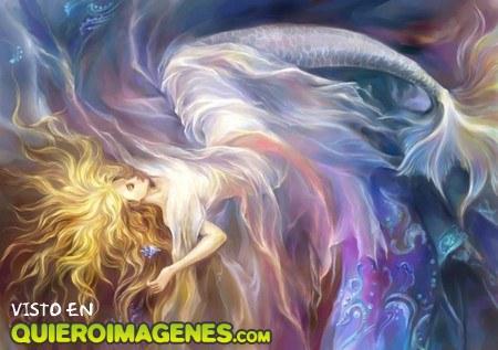Sirena de fantasía