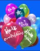 Globos de cumpleaños