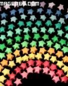 Estrellas de colores para Facebook