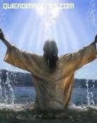 Dios en el agua